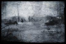 overcast sceneries