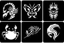 tattoo stencil kids