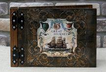 Album fotograficzny w drewnianej oprawie / klasyczne albumy w drewnianej oprawie