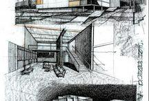 Croquis architecturaux