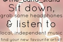 The Bandstand / Sponsored by ourselves, The Bandstand is a place where you can explore new music from local artists. Featuring a listening post you can 'try before you buy' and hopefully find your new favourite band!