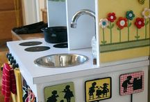 Play kitchen for kiddos:
