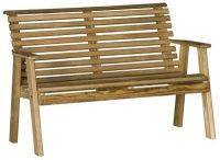 Outdoor Benches / Pine Ridge Online is the leading provider of Amish hand-crafted outdoor garden benches, gliders, porch swings, porch rockers and more. Choose from a variety of colors and styles. We offer Cedar, Pine and Poly.