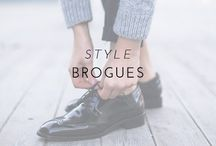 Style | Brogues / This menswear staple is always on-trend. Whether it's a classic cognac pair or an edgy metallic style, there is a brogue to fit your look, so you can add a touch of polish to your everyday outfit or make a feminine evening ensemble endlessly cool. Here are my must-have brogues of the season.