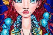 Coloring: Tanya Bond