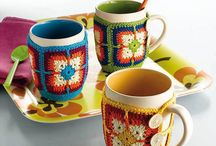 Mugs to cover / Crochet/knitted mug covers