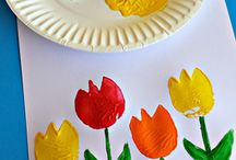 Spring Kid Crafts