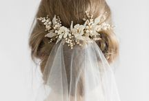 wedding hair acc