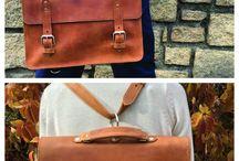 Handbags / Our handmade leather handbags and briefcases.