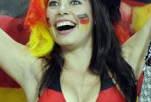 Germany Fans Girls