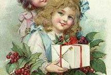 christmas kort på barn även sommar