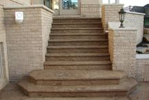 Concrete Steps / We are a concrete contractor supply store with a selection of decorative concrete solutions to choose from. We also have the tools & supplies needed for the do it yourselfer. Visit our showroom today.