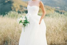 Wedding dresses + jewelry