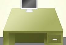 Office Space / Office / Desk Organization and Products  / by Kristin Morris