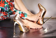 Gold & Silver shoe styling