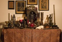 wiccan altars