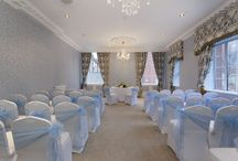 Wedding Ceremonies / A selection of wedding ceremony set up's in our Queen Henrietta and Great room