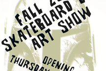 The Dark Slide Deck Art Show Fall 2013 / Random pictures and fliers from The Dark Slide Deck Art Show Fall 2013 showing Oct. 17th through Nov. 28th at Eronel 285 Main St. Dubuque, Iowa