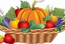 Fruit and Veggie Clip Art