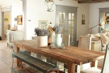 Farmhouse Living / As makers of custom farmhouse furniture, see the collection of farmhouses that inspire us to make beautiful homes that much better.  See more at http://www.ECustomFinishes.com (978) 831-3106 / by ECustomFinishes