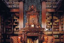 The Castle Library. / Please pin to your hearts content.