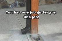 Gutter fails