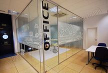 glass divider graphic