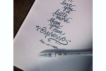 Calligraphy by lene
