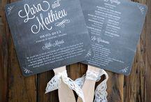 Wedding details...
