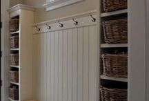 For inside the home - mudroom & laundry