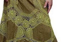 вязание+ткань...