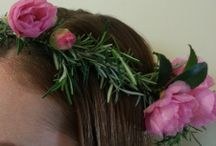 Floral Hairpieces / All types of floral hairpieces