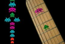 "Colorful / inlay sticker ""Colorful"" guitar/ukulele decals"