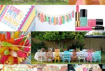 Candy Coloured Wedding Inspiration