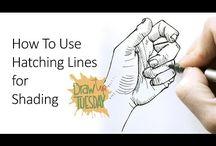 Sztuka - rysowanie dłoni