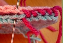 Manuale punti crochet e kniting
