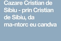 Cazare Cristian de Sibiu