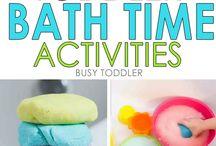 Bath time activities