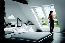 Loft or attic bedroom