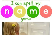 ABCs- name recognition  / by Sierra @ H is for Homeschooling