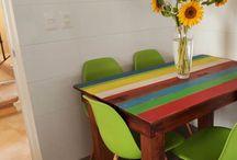 Ideas muebles con tablas de palets / Descubre novedosas ideas de muebles a partir de tablitas de madera