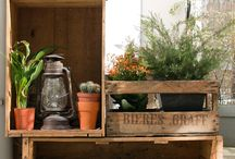 Balcony Inspiration / City life means you're over the moon with any kind of outdoor space... This board is full of ideas to make your mini urban garden as cosy and peaceful as possible.