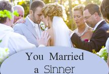 Marriage / Advice, love, forgiveness, joy. Ideas for how to have a strong marriage. / by Amy Bal