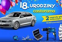 18. Urodziny Castoramy / 2 nagrody główne i 110 500 nagród dodatkowych!
