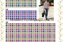 our fashion fabrics to make beautiful shirts / supplier