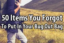 Emergency kit / Things to have when the bug H happens!