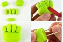 How to...fondant/clay/icing