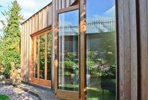 Timber Doors / Bifold doors