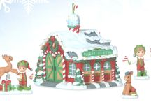 Precious Moments Candy Cane Lane / Precious Moments Candy Cane Lane Collection features a whimsical village decorated with holiday flair. Collect all the pieces in the Precious Moments Candy Cane Lane series.