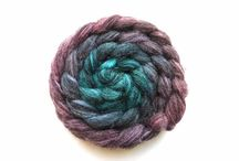 Gradiance Fibre & Spinning / Fibre created by Gradiance Yarns and the yarns spun from them!